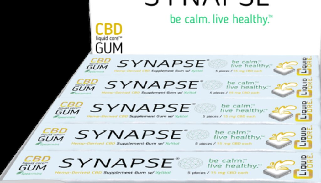 Synapse's CBD-Infused 'Practical Gum' Signs Up With Burgeoning Market