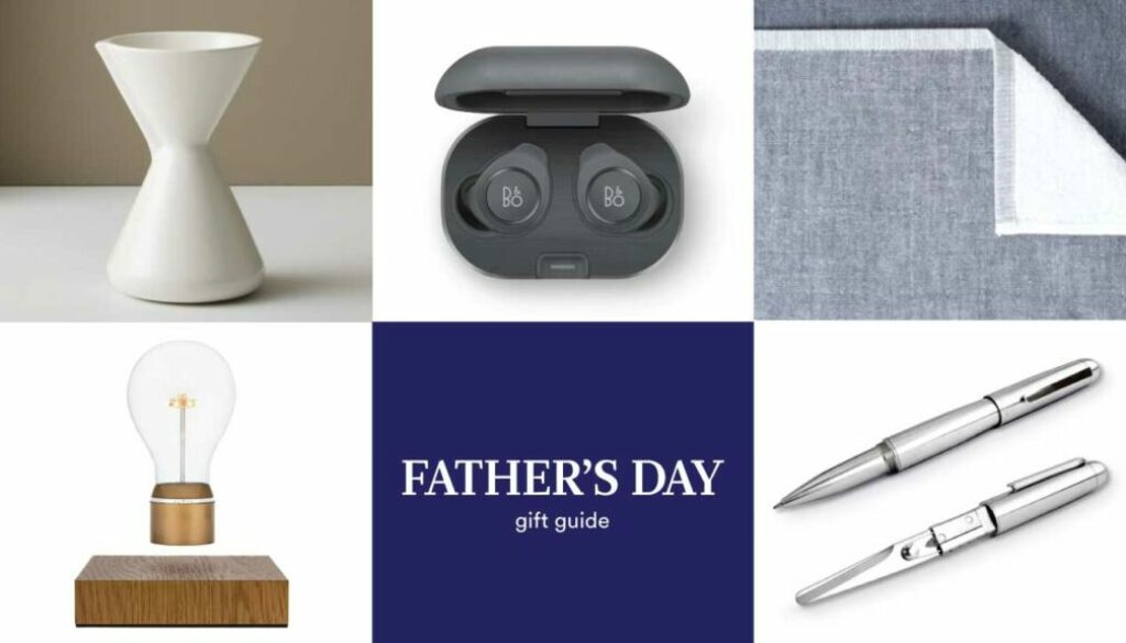 Style Milk's 2020 Daddy's Day Gift Guide