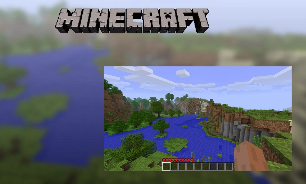Seed of Minecraft's timeless title screen discovered